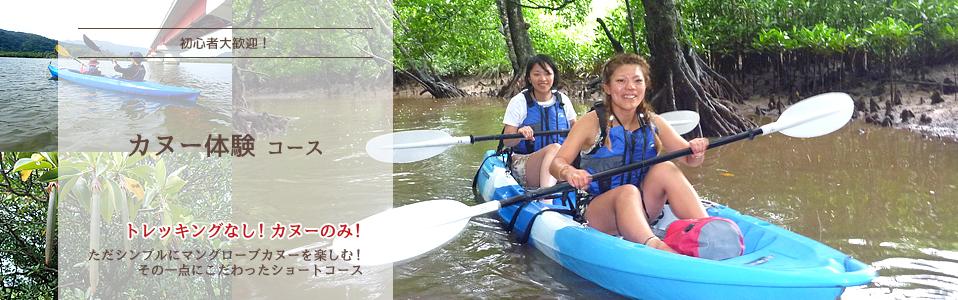カヌー、カヌー体験ツアー