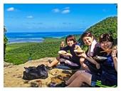 ピナイサーラの滝上から望む西表島の絶景