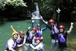 アダナデの滝カヌー&シャワートレッキングコース