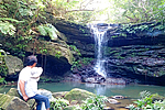 クーラ川カヌー&滝探訪コース