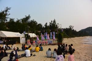 海開き2014前夜祭_フラダンス