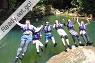 西表島・がっつり漕いで!ナーラの滝「トレッキング」
