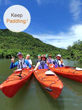 Nara falls Kayak and Hiking