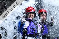 西表島・アダナデの滝カヌー&シャワートレッキングツアー「シャワートレッキング」