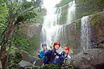 ユツンの滝ジャングルトレッキング&ケイビングコース